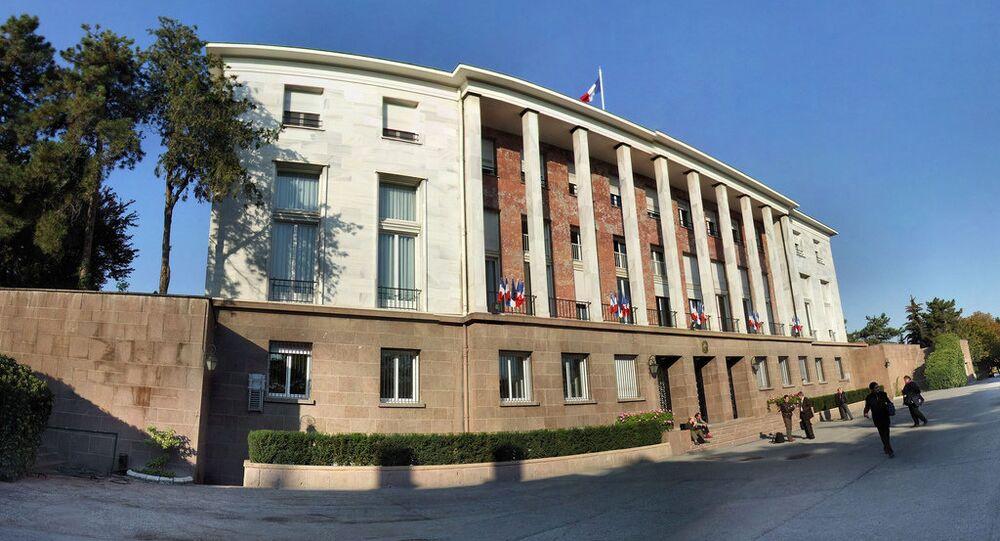 French embassy. Ankara