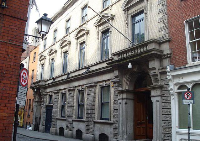 Irish Stock Exchange, Anglesea Street, Dublin, Ireland