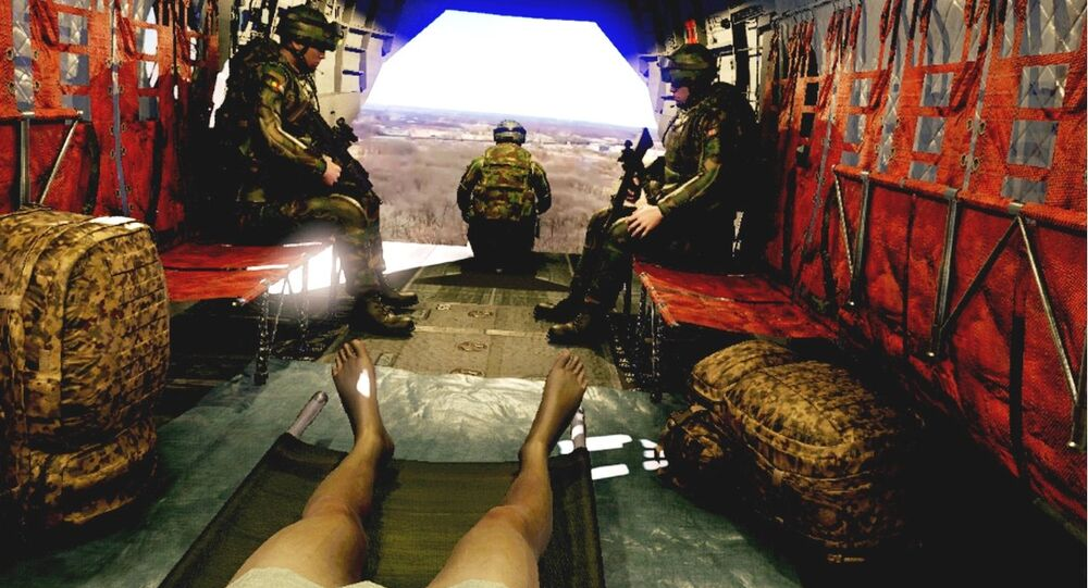MERT Training in a Chinook Virtual Reality