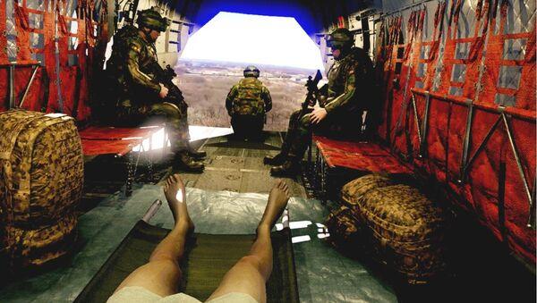 MERT Training in a Chinook Virtual Reality - Sputnik International