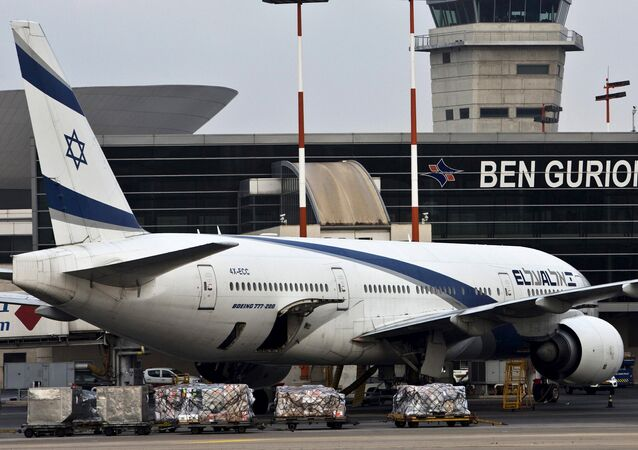 FIle photo of an EL AL Boeing 777 aircraft at Ben Gurion International Airport near Tel Aviv, Israel (File)