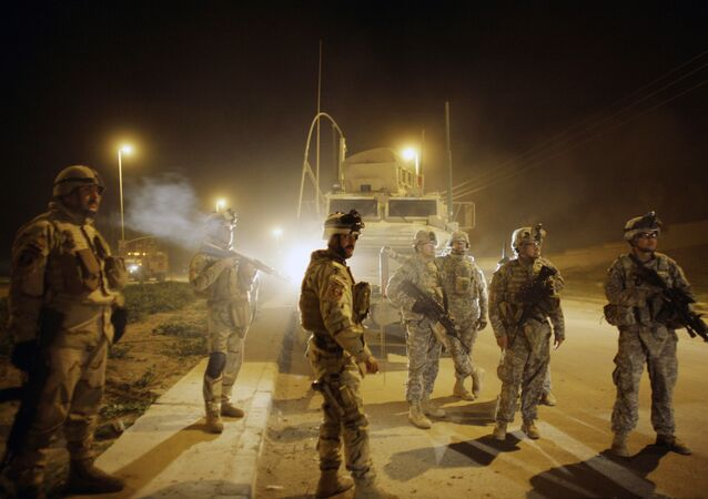 U.S. Army soldiers,Mosul, north of Baghdad, Iraq (File)