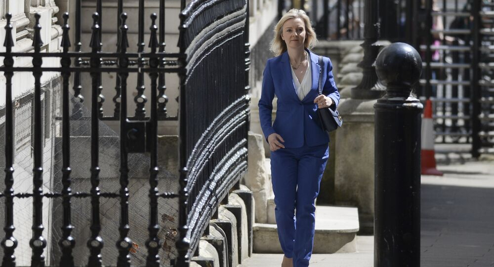 Conservative politician Liz Truss, who served as Environment Secretary under David Cameron, arrives at 10 Downing Street in central London on July 14, 2016 as cabinet appointments by new prime minister Theresa May are expected on her first full day in office