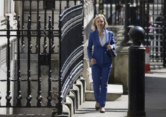 Conservative politician Liz Truss, who served as Environment Secretary under David Cameron, arrives at 10 Downing Street in central London on 14 July 2016 as cabinet appointments by new prime minister Theresa May are expected on her first full day in office