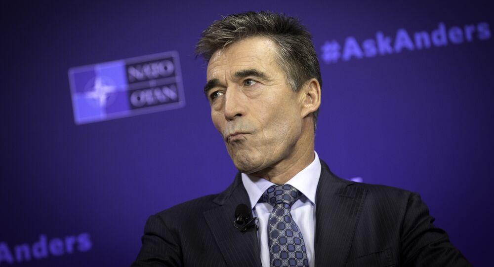 NATO Secretary General Anders Fogh Rasmussen  (File)