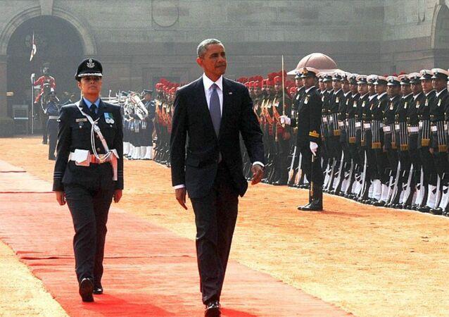 Pooja Thakur and Obama