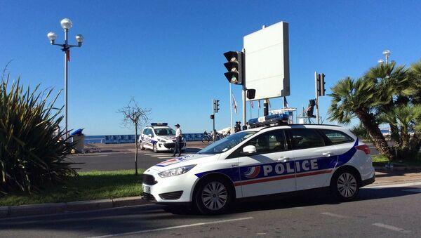 French police  in Nice - Sputnik International