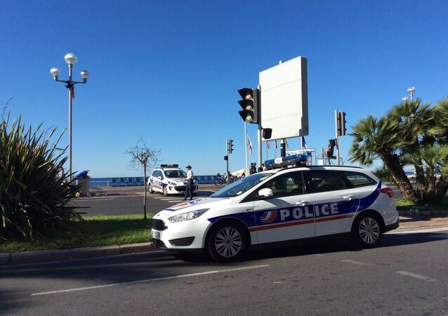 French police  in Nice