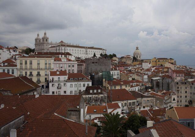 Lisbon's Alfama neighborhood