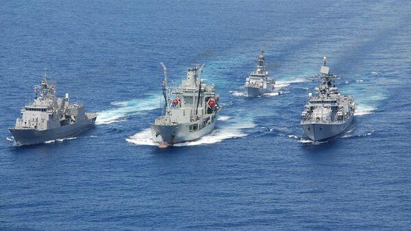 India sends three naval ships to Malaysia - Sputnik International