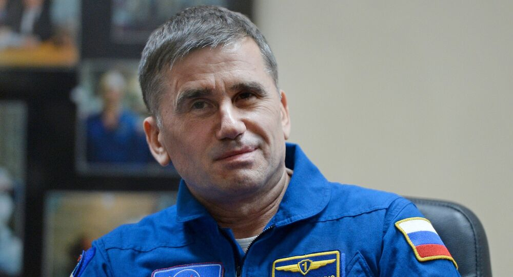 Roscosmos cosmonaut Yury Malenchenko