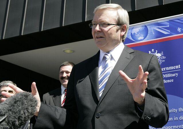 Australian Ex Prime Minister Kevin Rudd