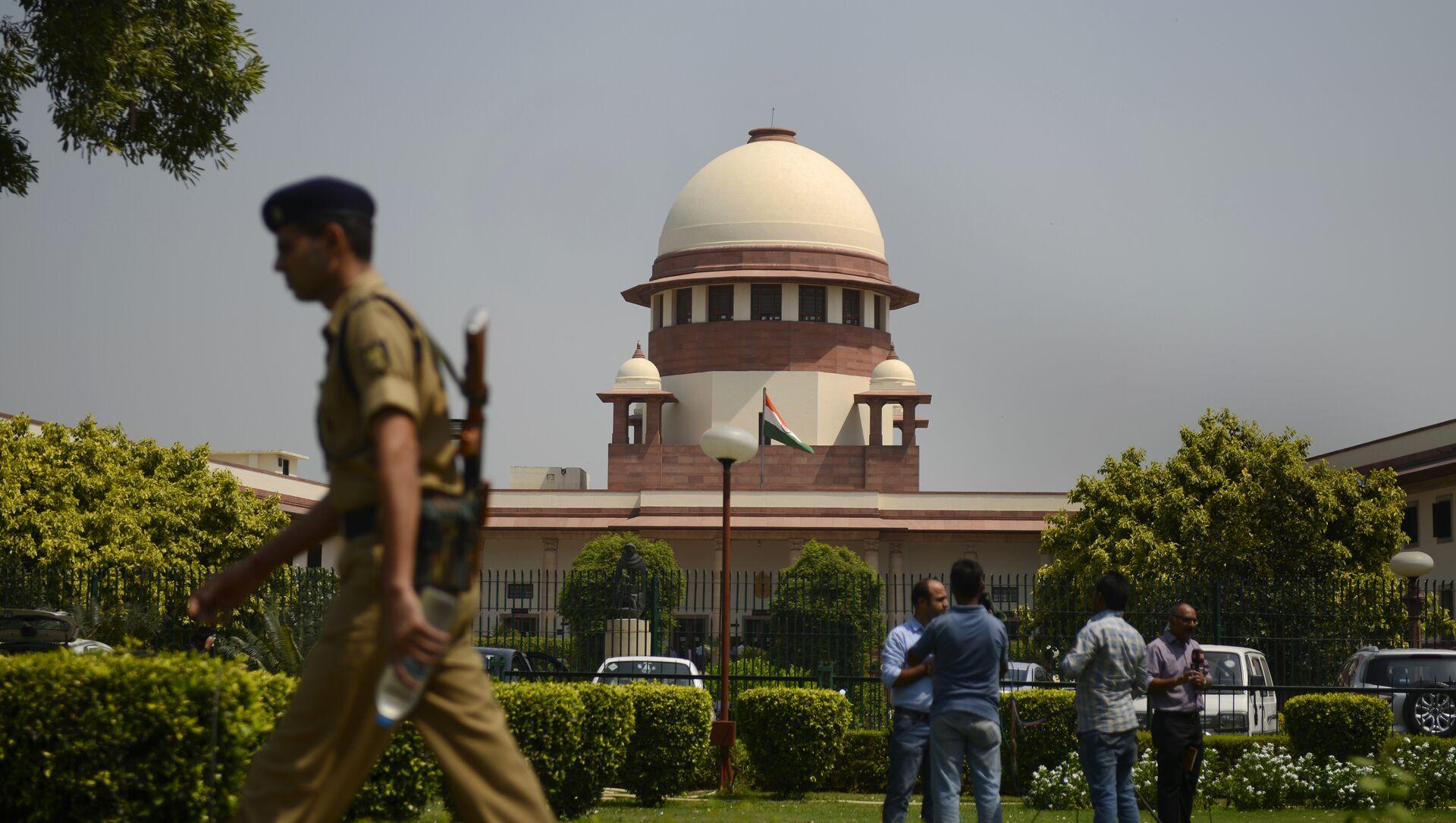 Indian Supreme court in New Delhi - Sputnik International, 1920, 27.07.2021