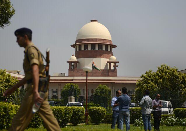 Indian Supreme court in New Delhi