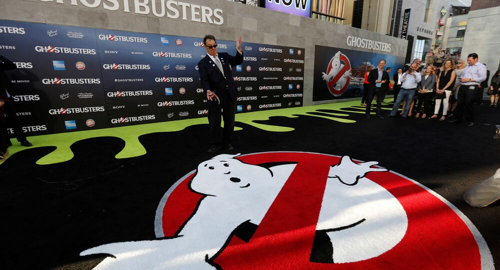 Executive producer Dan Aykroyd poses at the premiere of the film Ghostbusters in Hollywood, California US, July 9, 2016.
