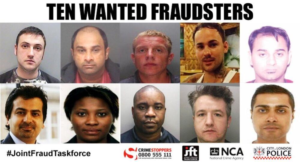 The list: top row (left to right): Alex McKenzie, Sandeep Arora, Levi Coyle, Marius Anton, Felix Rooney, bottom (left to right): Adam Stagg, Alexia Thomas, Faisal Butt, Bayo Anoworin and Naeem Ahmed.