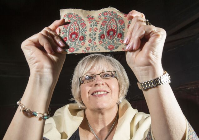 Paisley Pattern Travels to Space