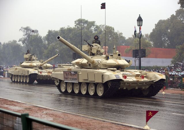 Indian Army Tanks (file)