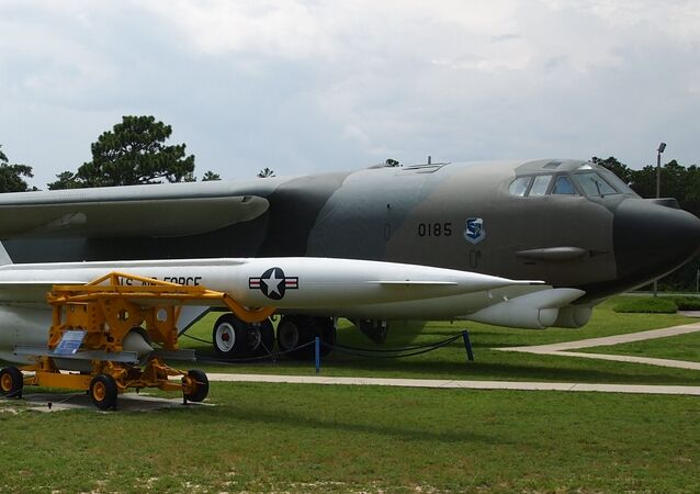 The Hound Dog was an air-launched supersonic nuclear missile designed to destroy heavily defended ground targets.