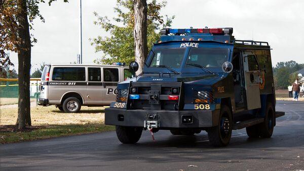 Columbus Police Armored Vehicle - Sputnik International