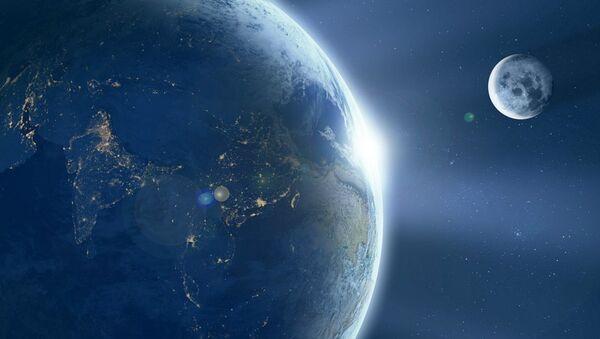 Earth and moon - Sputnik International