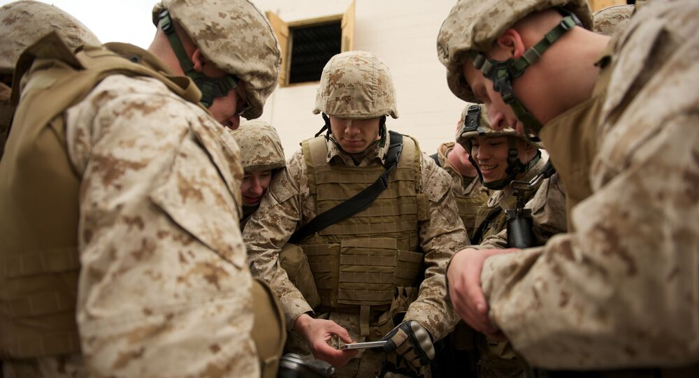 Marines share smartphone footage for training
