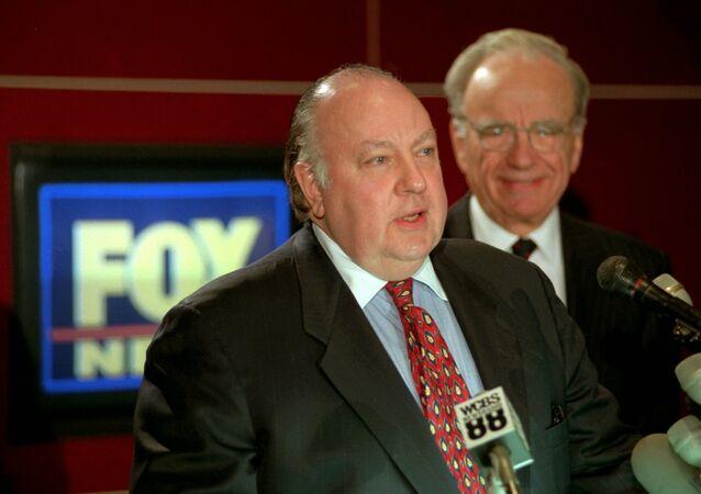 Roger Ailes and Rupert Murdoch