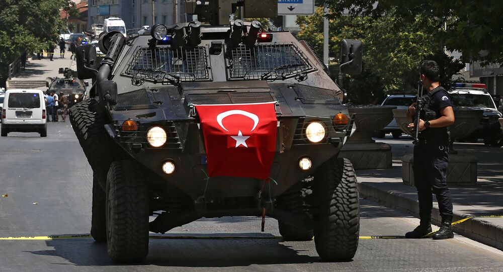 Turkish police special forces APC (File)
