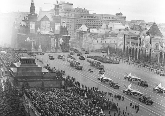 Military Parade on Red Square