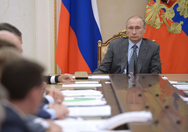 President Putin holds meeting with Russian Government