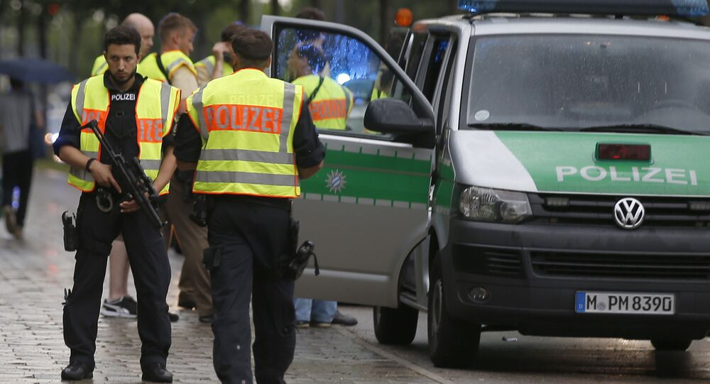 Munich Police During Shooting