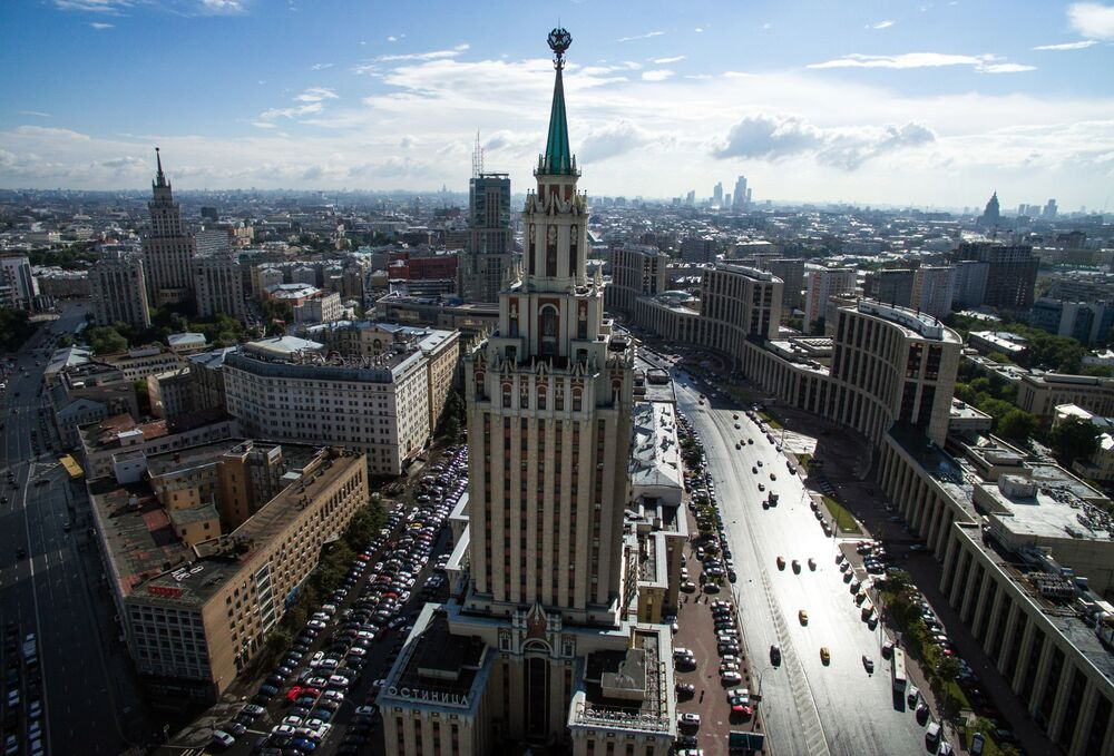 Spectacular Bird's-Eye Views of Moscow's 'Seven Sisters'