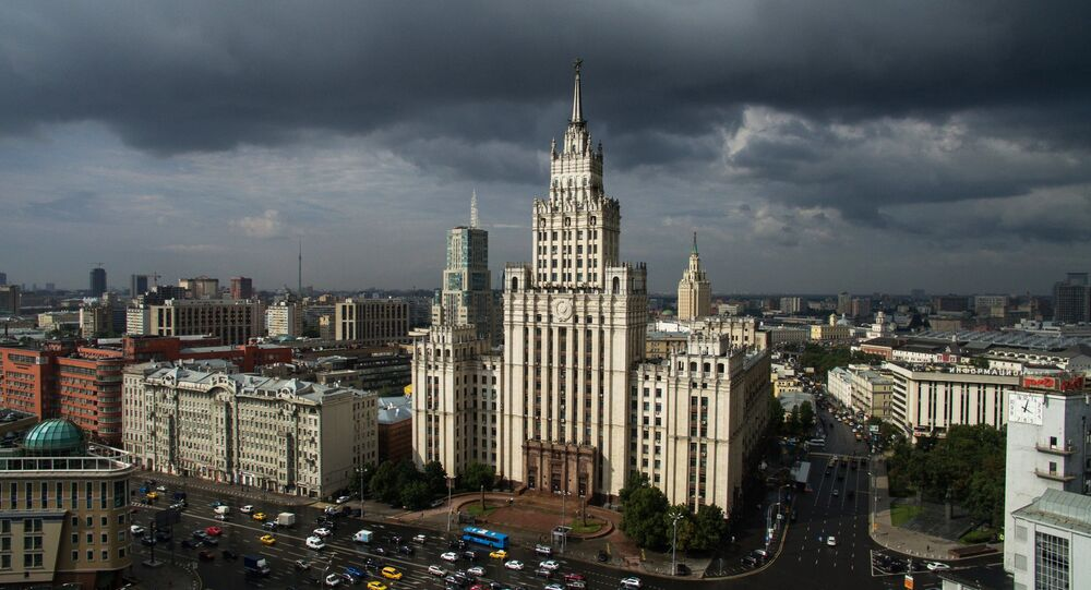 Bird's-eye views of Moscow