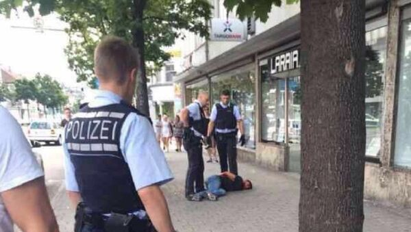 One Killed, Two Injured in Machete Attack in German Town of Reutlingen - Sputnik International