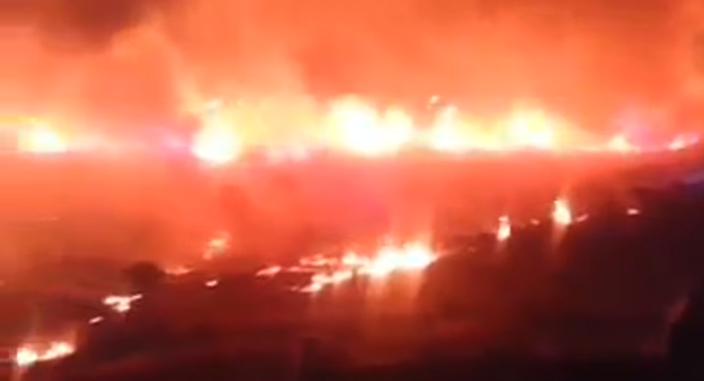 Massive Fire in Turkey