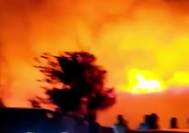 Major NATO Base Fire in Izmir, Turkey