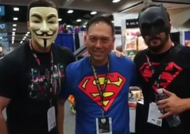 Henry Cavill at Comic Con 2016