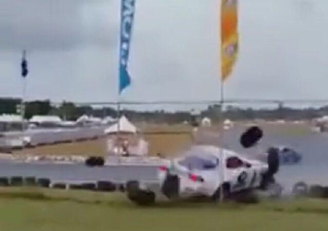 Crash at Wallerfield