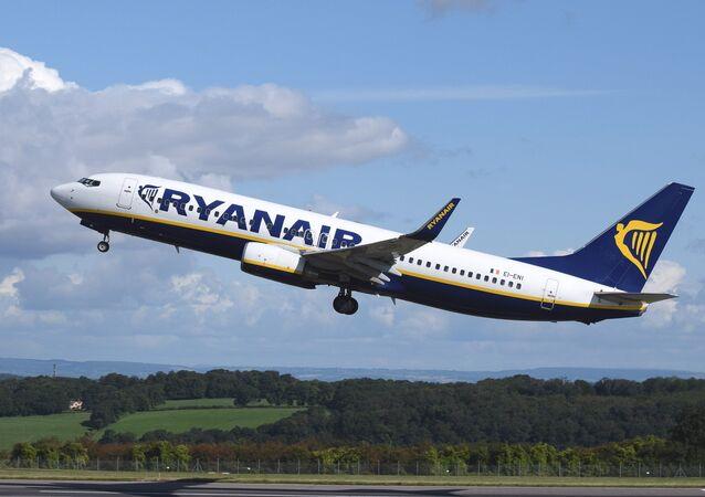 Irish Ryanair airline