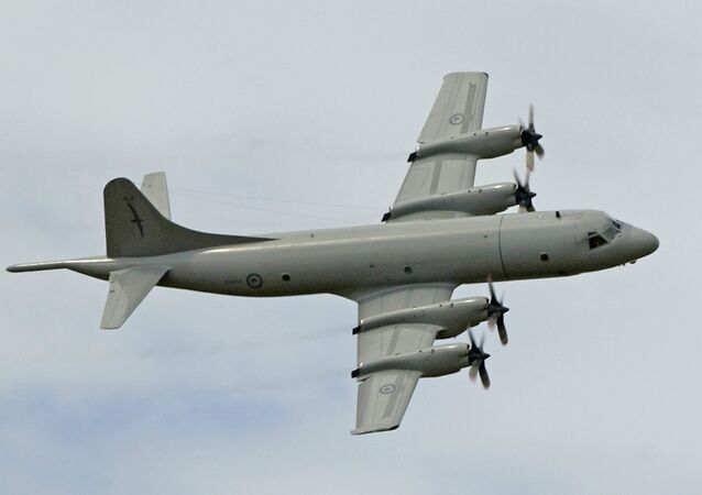 Lockheed P-3 Orion aircraft. (File)