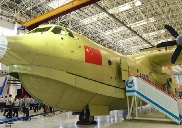 World's largest amphibious aircraft made in China