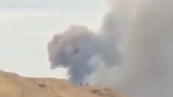 Strong arms factory blast - Shirvan footage - Sputnik International