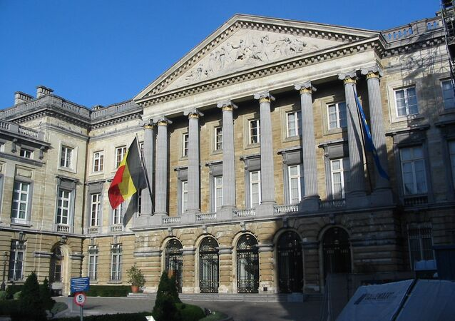 The Palace of the Nation in Brussels, home to both Chambers of the Federal Parliament of Belgium