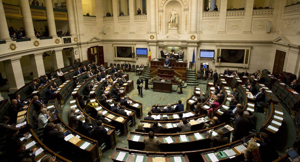 Belgian Federal Parliament. File photo