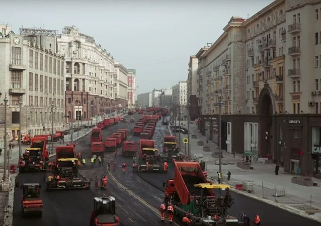 Reconstruction of Russian Main Road