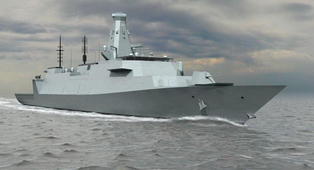 CGI Image of Type 26 Global Combat Ship