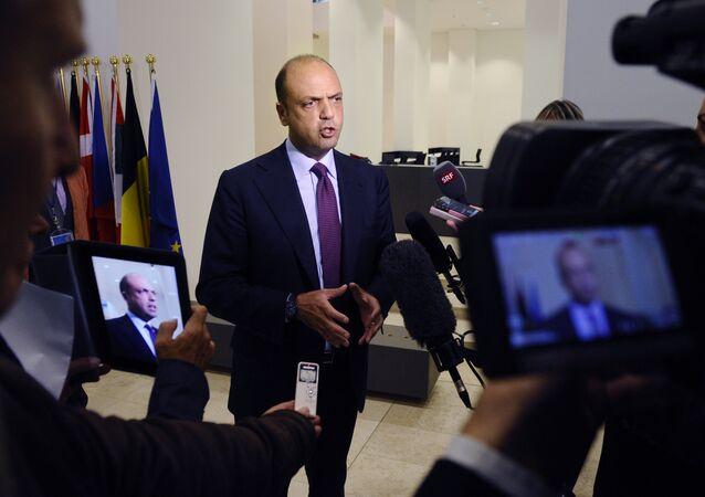 Italian Minister of Interior Angelino Alfano (File)