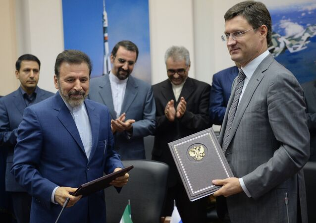 Russia and Iran agreed to develop a five-year strategic cooperation agreement and an energy sector working group