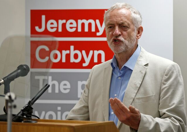 Leader of the Labour Party, Jeremy Corbyn, speaks at the launch of his new leadership campaign at the Institute of Education in London, Britain July 21, 2016
