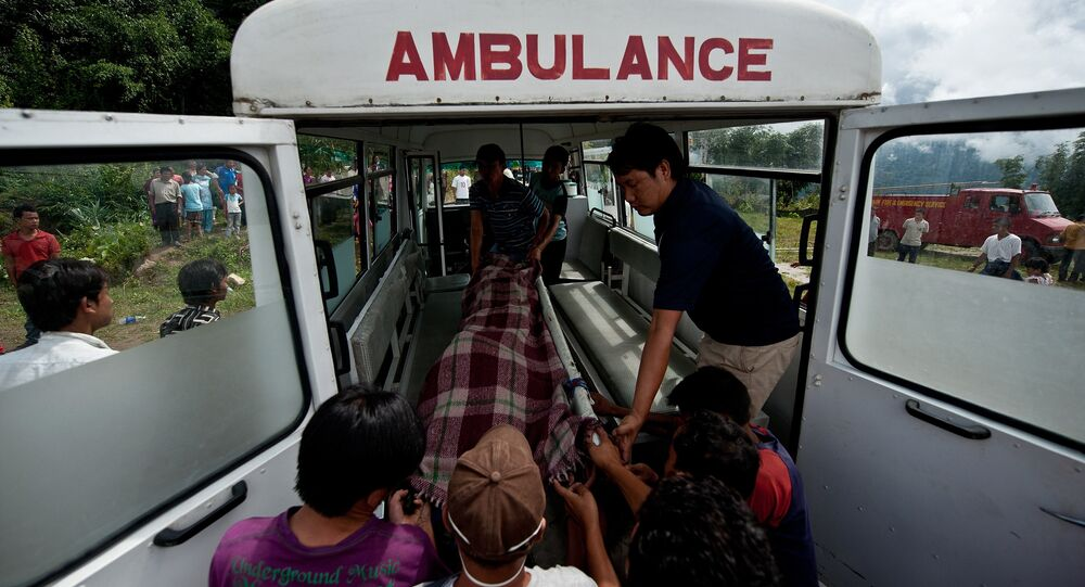 Nepal  Ambulance. (File)